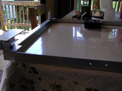 Solar Panel on Table